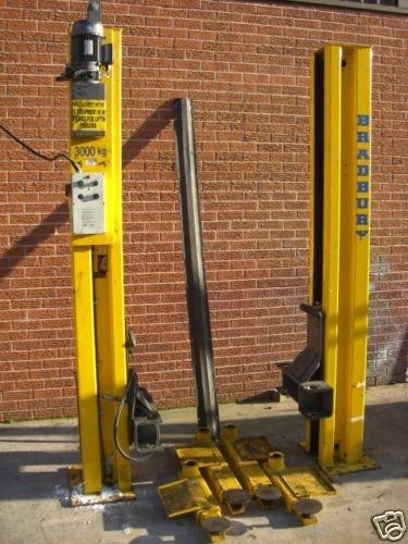 bradbury 2 post vehicle lift 3 tonne rh garageequipmentshop com Charlie Bradbury Danielle Bradbery