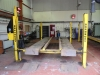 Bradbury 4 Tonne 40 Series vehilce lift c/w turn plates